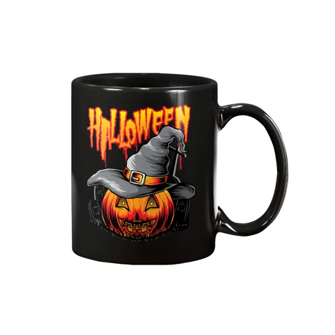 HALLOWEEN WITCHES PUMPKIN 15oz MUG