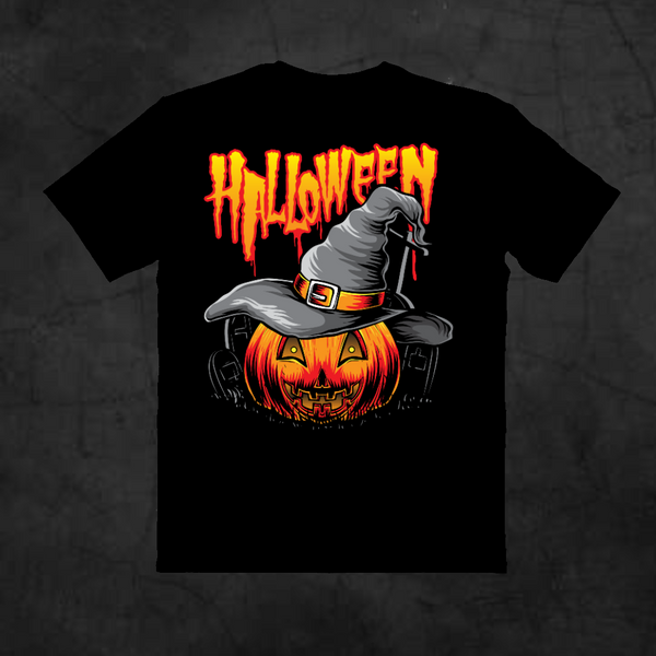 HALLOWEEN WITCHES PUMPKIN TEE
