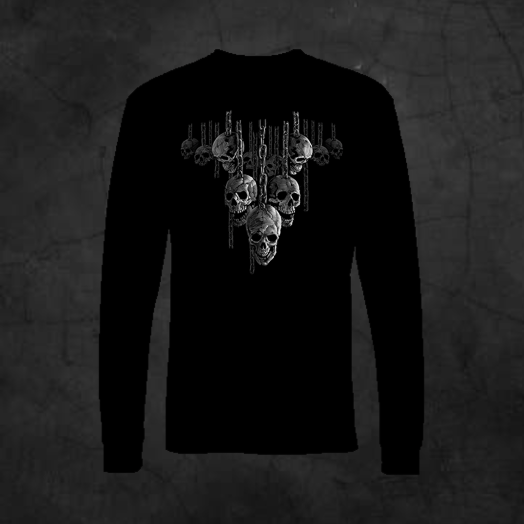 HANGING AROUND - LONG SLEEVE - Metalhead Art & Design, LLC