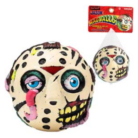 Jason Voorhees Friday The 13th Madballs - Metalhead Art & Design, LLC