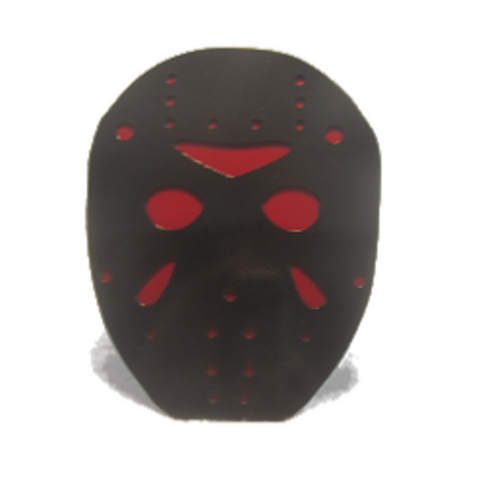 "Jason Voorhees ""Friday the 13th"" Trailer Hitch Cover - Metalhead Art & Design, LLC"