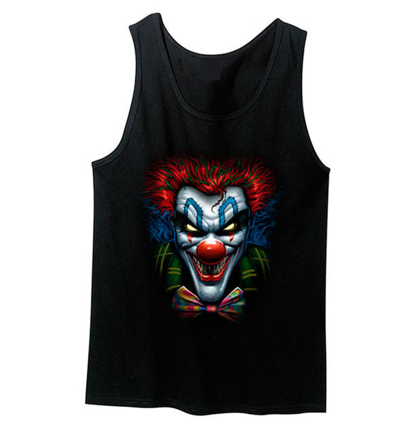 Joker Killer Clown Tank Top - Metalhead Art & Design, LLC