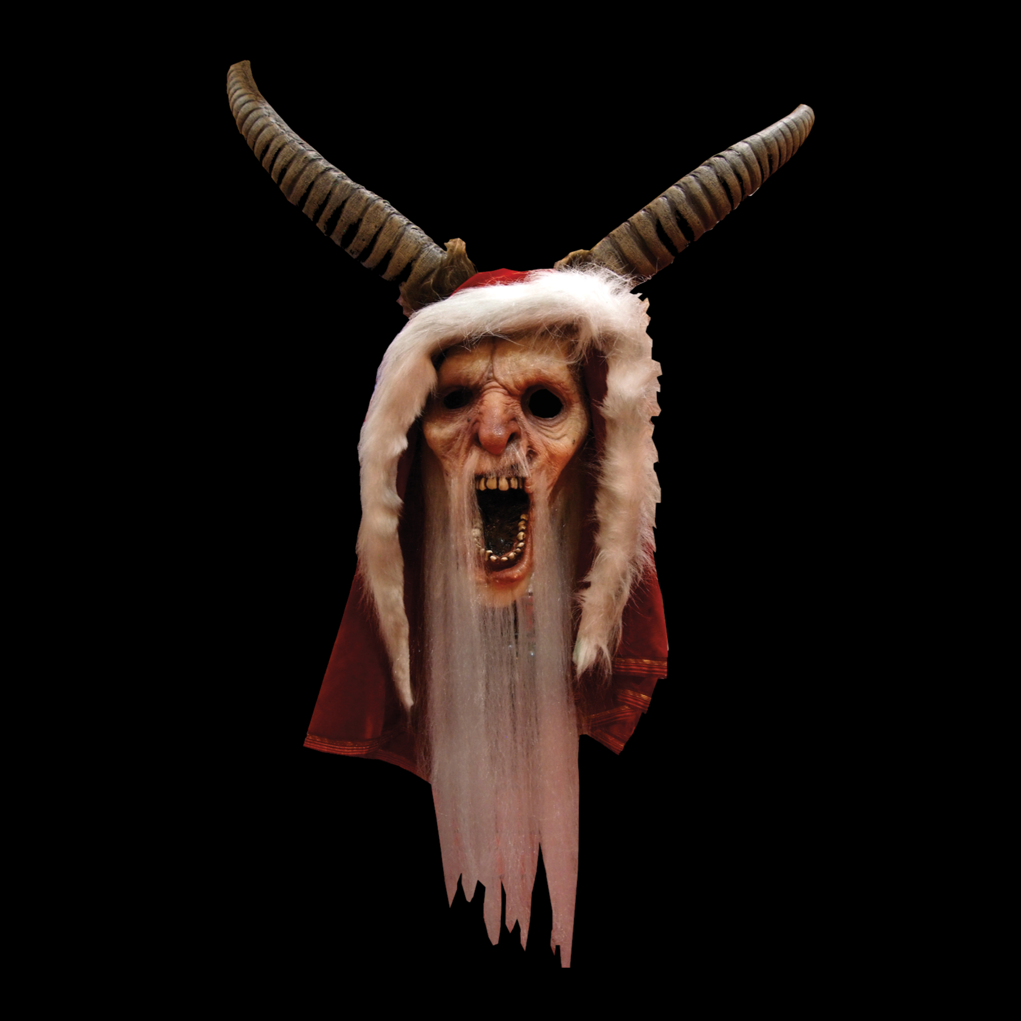 Krampus Latex Halloween Mask - Metalhead Art & Design, LLC