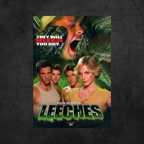 LEECHES DVD - Metalhead Art & Design, LLC