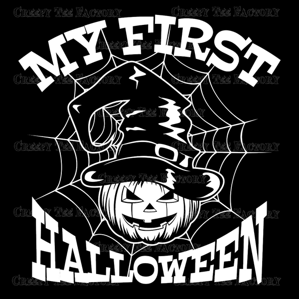 MY FIRST HALLOWEEN ONESIE - Metalhead Art & Design, LLC