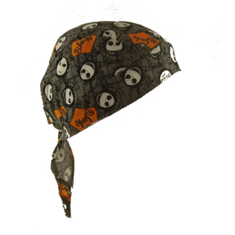 Nightmare Before Christmas Skull Cap - Metalhead Art & Design, LLC