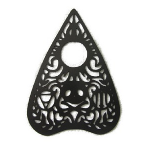 Ouija Planchette Metal Wall Hanging - Metalhead Art & Design, LLC