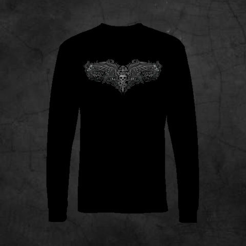 PINSTRIPE - LONG SLEEVE - Metalhead Art & Design, LLC