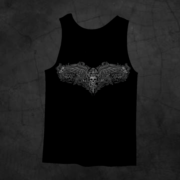 PINSTRIPE TANK TOP - Metalhead Art & Design, LLC