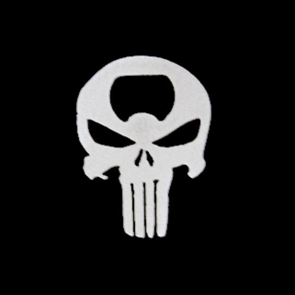 Punisher Skull Bottle Openers, Set of 10 - Metalhead Art & Design, LLC
