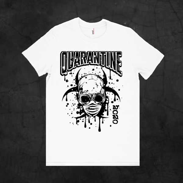 QUARANTINE 2020 SKULL - Metalhead Art & Design, LLC