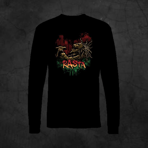 RASTA SONG - LONG SLEEVE - Metalhead Art & Design, LLC