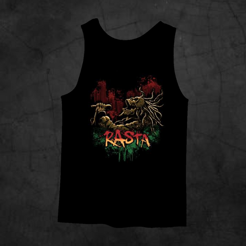 RASTA SONG TANK TOP - Metalhead Art & Design, LLC