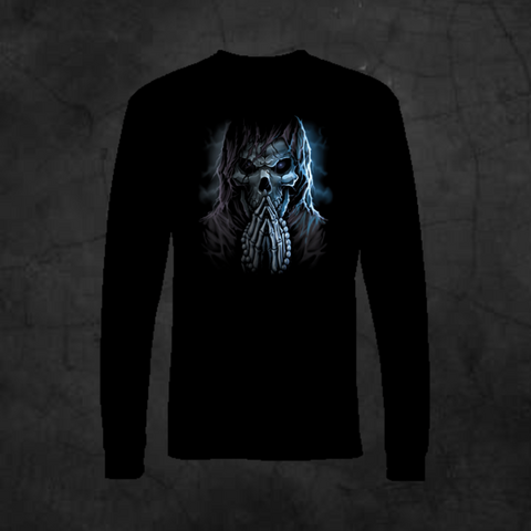 REAPER PRAYING - LONG SLEEVE - Metalhead Art & Design, LLC