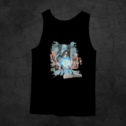 REAPER'S SPELL TANK TOP - Metalhead Art & Design, LLC
