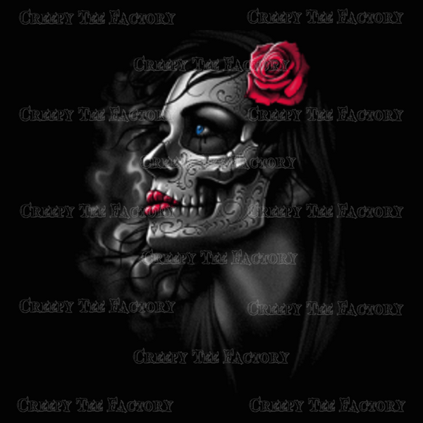ROSE GIRL - Metalhead Art & Design, LLC