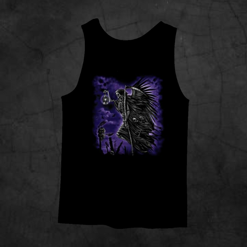 SOUL TAKER TANK TOP - Metalhead Art & Design, LLC