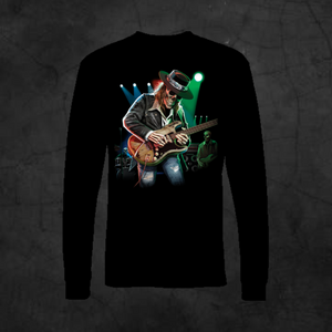 TEXAS BLUES - LONG SLEEVE - Metalhead Art & Design, LLC