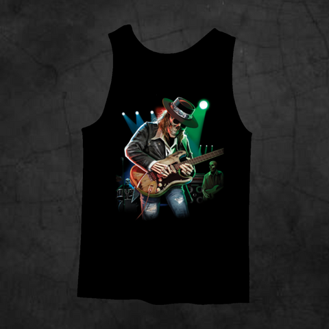 TEXAS BLUES TANK TOP - Metalhead Art & Design, LLC