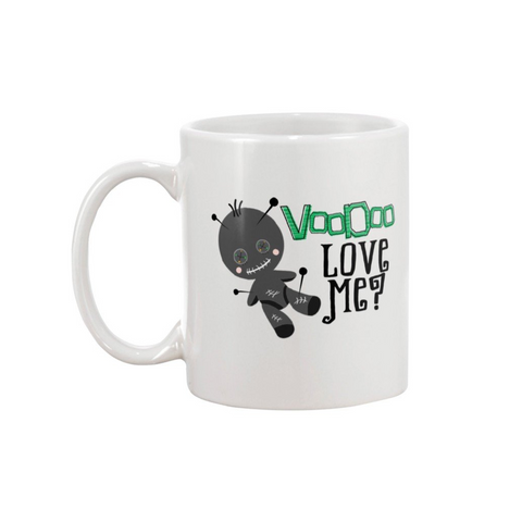 VOODOO LOVE ME MUG - Metalhead Art & Design, LLC