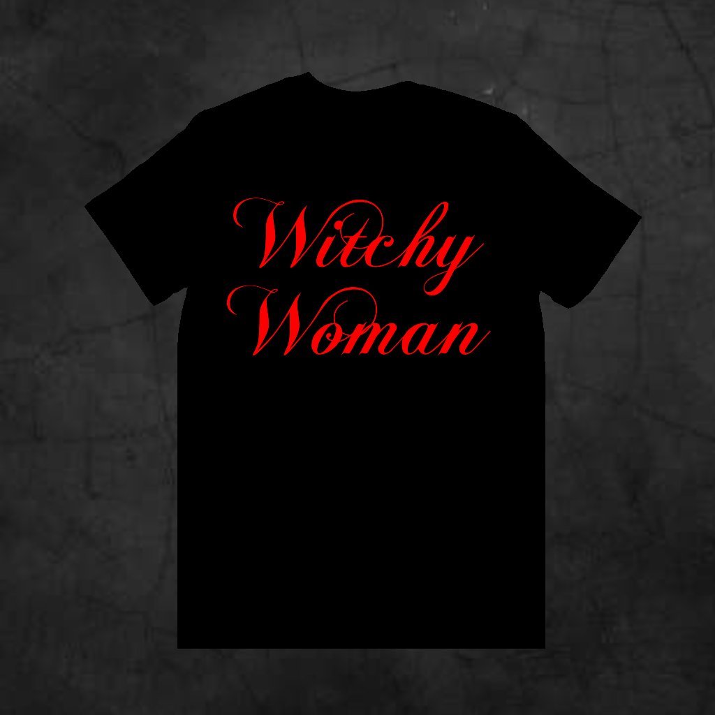 WITCHY WOMAN - Metalhead Art & Design, LLC