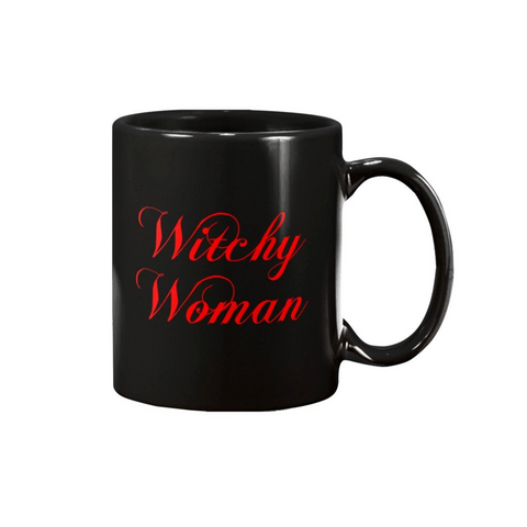 WITCHY WOMAN MUG - Metalhead Art & Design, LLC
