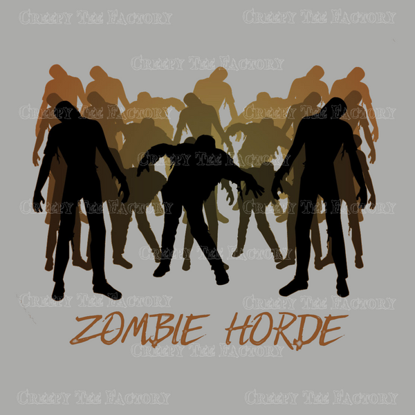 ZOMBIE HORDE - Metalhead Art & Design, LLC