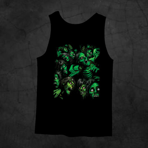 ZOMBIE PILE TANK TOP - Metalhead Art & Design, LLC