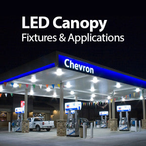 LED Canopy Fixtures & Applications