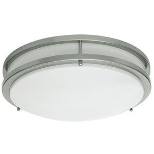 "10"" LED Ceiling Light/14W/ Double Ring"