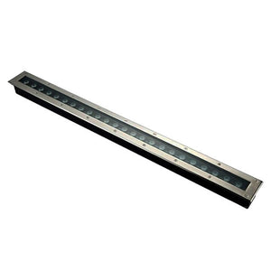 "1.5""x40"" LED underground linear light 24W, 24V, te ..."