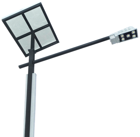 SOLAR LED STREET LIGHT 48W