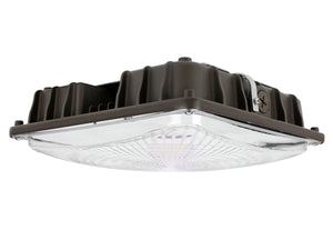 LED low profile canopy light 58 Watts - 5000K Bronz