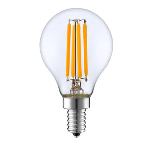 3.5 Watt LED G45 bulb - 2700k - dimmable