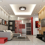 LED Recessed Down Light installed