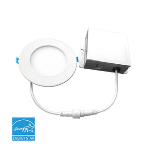 "LED 6"" round Slim downlight - 3000K"