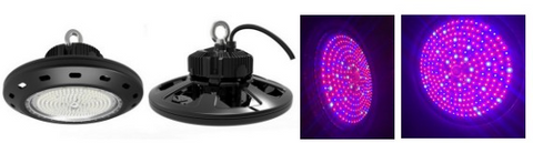 LED UFO Grow Light - 160W