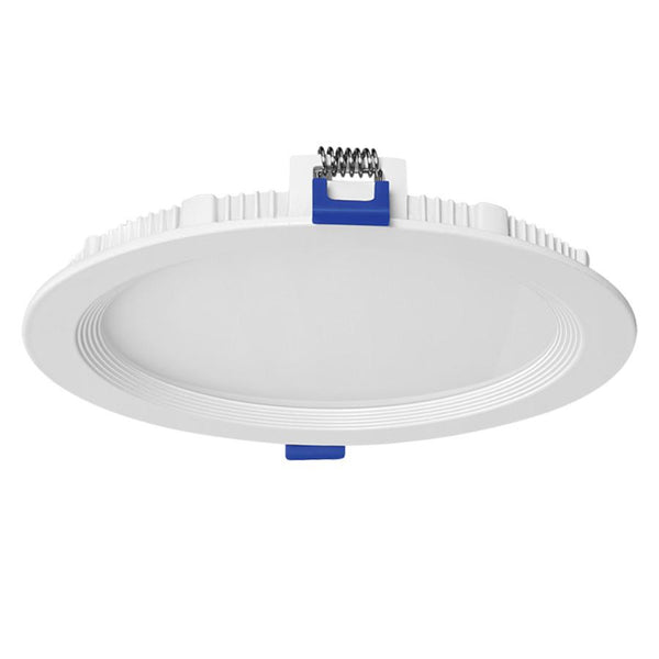 "10"" Round Flat Panel- 25w - 3k - Dimmable - 2125Lm"