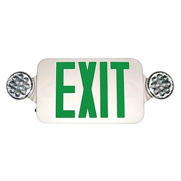 LED Exit-Emergency Light Combo-Round Head-73042