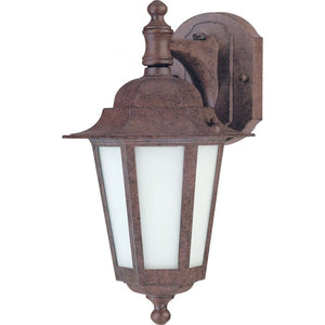 LED Outdoor Wall Lantern/Bronze/photo cell/motion sensor