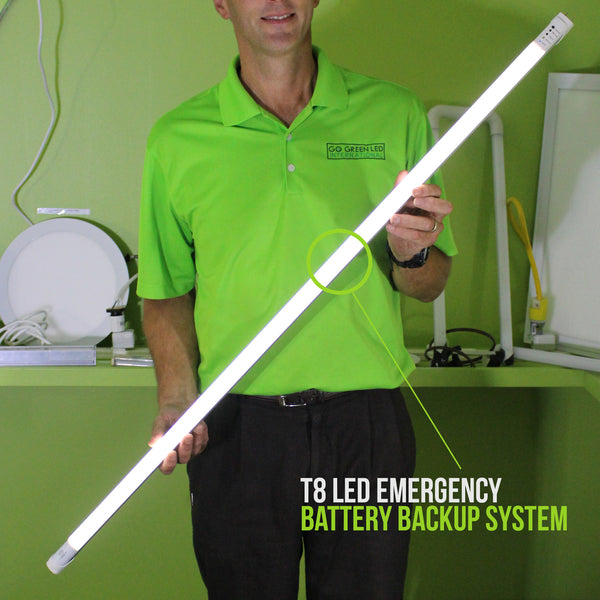 LED T8 - 2ft Emergency Back-up