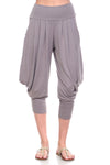 Simplicitie Women's Mocha Harem Pants