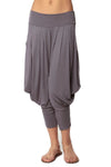 Simplicitie Women's Gray Harem Pants