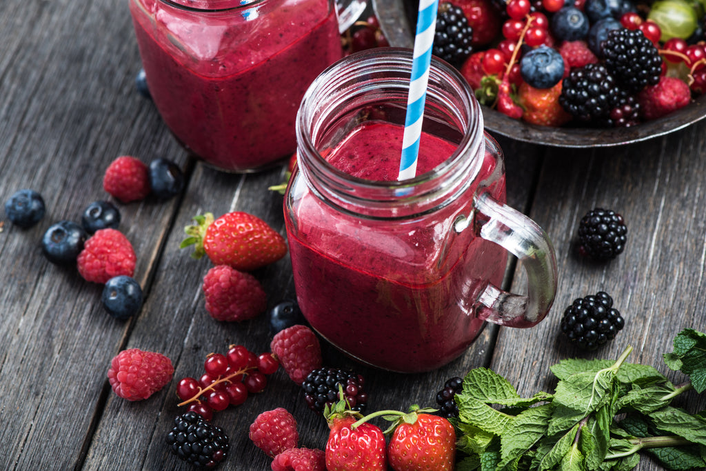Yummy Mixed-Berry Smoothie