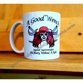 A Good Wench Mug - Lady Phoenix Creations