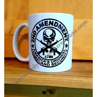 2nd Amendment Mug - Lady Phoenix Creations