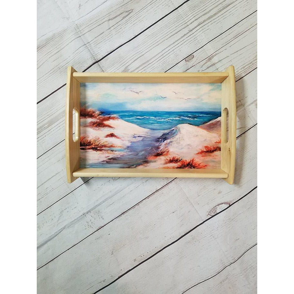 Wood Serving Tray - Lady Phoenix Creations