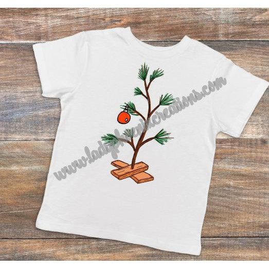 Charlie Brown Tree - Dye Sublimated shirt - Lady Phoenix Creations