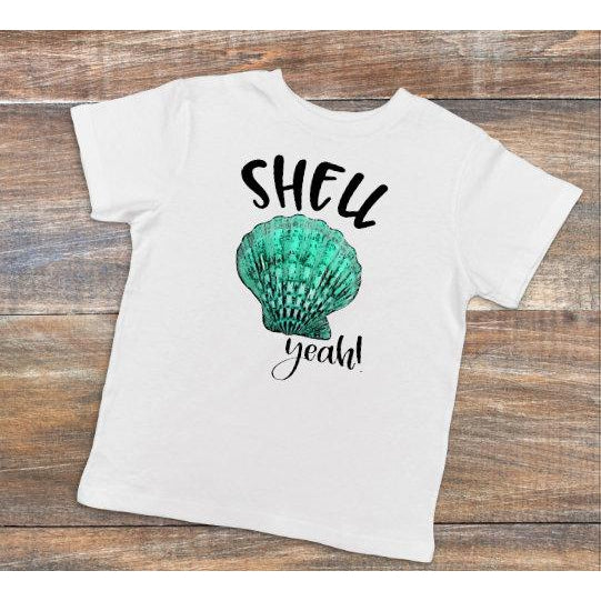 Shell Yeah  - Dye Sublimated shirt - Lady Phoenix Creations