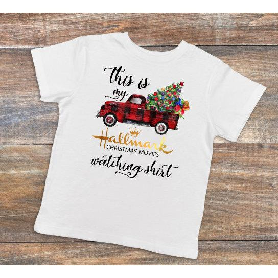 Hallmark Movies Plaid Truck  - Dye Sublimated shirt - Lady Phoenix Creations